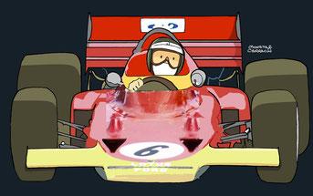 Jochen Rindt by Muneta & Cerracín-