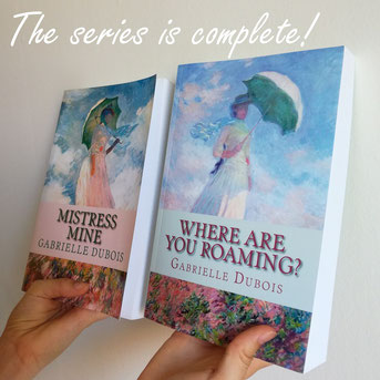 Gabrielle Dubois author, historical fiction novel. Where are you roaming