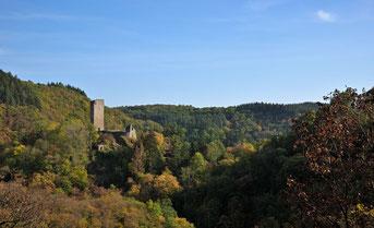 Die Oberburg von Manderscheid