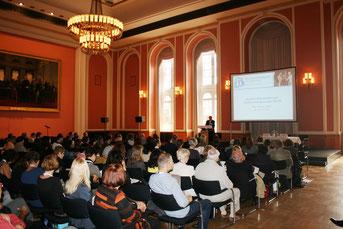 Auch 2014 wird der STI-Kongress wieder im Roten Rathaus Berlin stattfinden.
