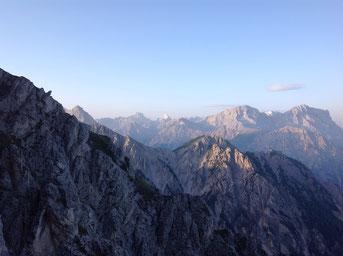 Morgen in den Dolomiti