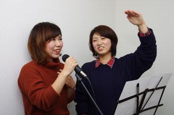 ボーカル科ボイストレーニングレッスン