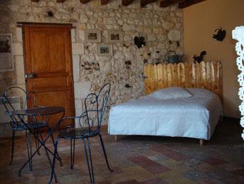 "kamer""le jardin"" comfort,ruimte,rust,sfeervol kortom leven als god in Frankrijk"