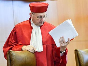 Der Vizepräsident des Ersten Senats des Bundesverfassungsgerichts, Ferdinand Kirchhof. Foto: Uwe Anspach