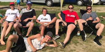 Unser Team beim Bayerwald-Mixed 2018