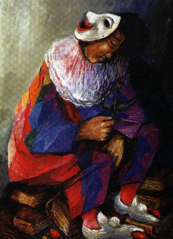 """""""Der Clown"""" von Sieger Köder."""