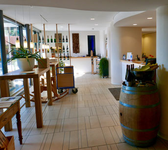 Weingut Höfler - Probier- und Verkaufsraum