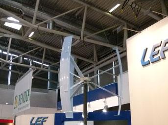 Vertikal Windrad Klein Windanlage