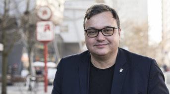 Michael Grunst, Bezirksbürgermeister Lichtenberg / Foto: Steven Kohlstock
