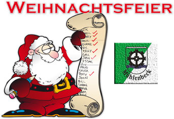 einladung zur weihnachtsfeier - sv mühlenbeck 1947 e.v., Einladung