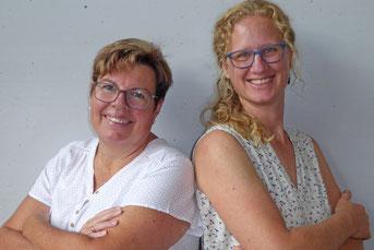 Tanja Eckart (links) und Manuela Steinhauer (rechts)