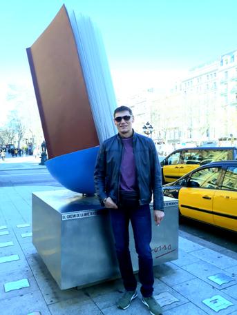 Барселона, памятник Книге