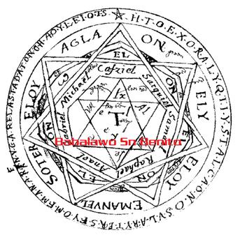 Exorcismo, circulo de poder, Babalawosnbenito, rompe magia negra, santería, brujería negra.