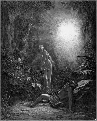 Создание Евы (Гюстав Доре)