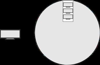 LED Jonglierbälle mit Batterie