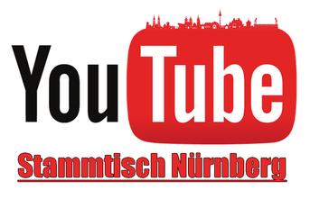 Logo vom YouTube Stammtisch Nürnberg