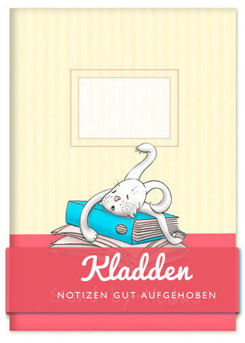 Kladden - Notizen gut aufgehoben - Stand-by-modus - müder Hase - Text und Illustration Judith Ganter - Verlag Rannenberg & Friends