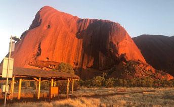 March, 2018. Uluru