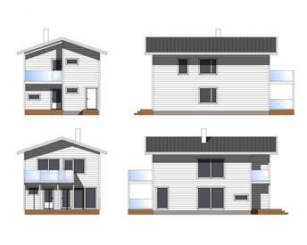 Blockhaus - Entwurfsplanung
