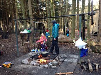 Waldspielgruppe Waldhäsli Oberhasli Niederhasli Dielsdorf Rümlang