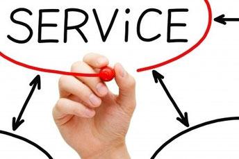 Kundendienst Wartung