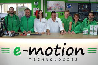 Die Gazelle e-Bike Experten in der e-motion e-Bike Welt in Lübeck