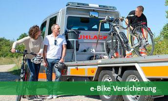Versicherungen für e-Bikes gegen Diebstahl, Vandalismus und Akku-Schäden schon ab unter 6€/Monat