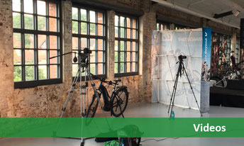 Videos rund um e-Bikes und Pedelecs auf unserem YouTube Kanal