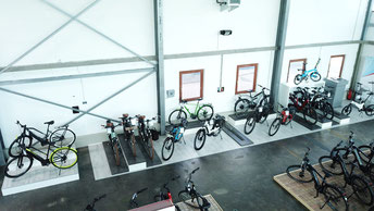 Der e-motion e-Bike Premium Shop in Hamburg