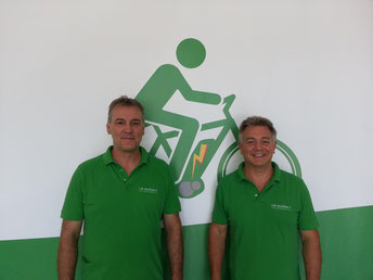 Das e-motion e-Bike Expertenteam in der e-motion e-Bike Welt in München West