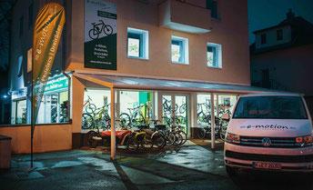 Der e-motion e-Bike Premium Shop in Köln