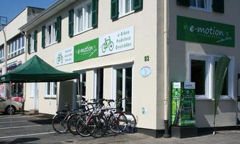 e-Bike Händler von der e-motion e-Bike Welt in Bonn