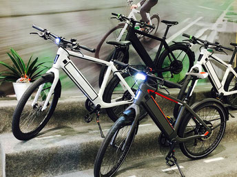 Das e-motion e-Bike Expertenteam in der e-motion e-Bike Welt in Nürnberg West
