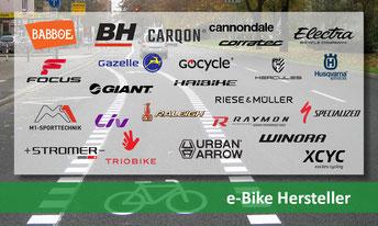 Alle e-Bike Hersteller und Marken kurz erklärt