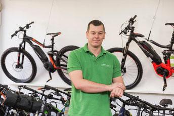 Tim Niehuis: Zweiradmechaniker - Werkstatt