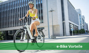 e-Bike fahren ist gesund, gut für die Umwelt und gar nicht so teuer - alle e-Bike Vorteile in der Übersicht