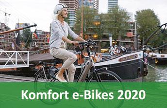 Komfort e-Bikes 2020