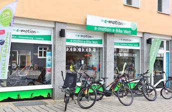 e-Bikes in der e-motion e-Bike Welt in Herdecke kaufen