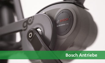 e-Bike, Pedelec und S-Pedelec Motoren und Antriebe von Bosch