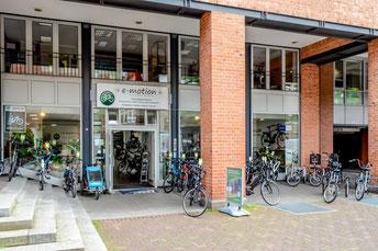 e-Bike Händler von dem e-motion e-Bike Premium Shop in Hannover