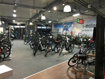 e-Bike Händler von dem e-motion e-Bike Premium Shop in Hamm