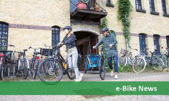 Brandaktuelle News und Neuheiten aus dem Markt der e-Bikes