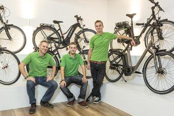 e-Bike Auswahl in der e-motion e-Bike Welt Braunschweig