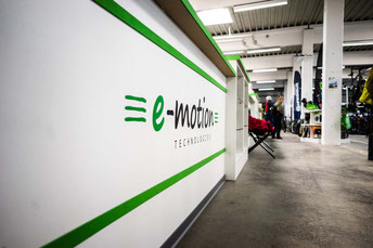 Der e-motion e-Bike Premium Shop in Velbert