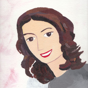 portrait of Maral by Nasim Hajibeik