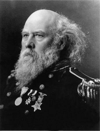 Адмирал Джордж Мельвилль, фото прибл. 1910-12 г.г.