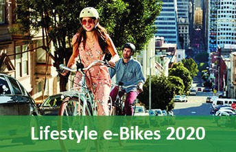 Lifestyle e-Bikes, Pedelecs und 45km/h S-Pedelecs 2020
