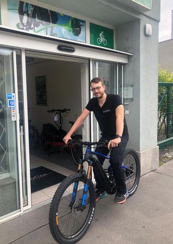 Matthias Fritz, e-motion e-Bike Experte in Wien