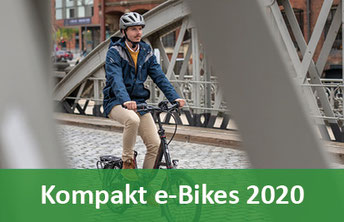Klapp, Falt und Kompakt e-Bikes Pedelecs und 45km/h S-Pedelecs 2020