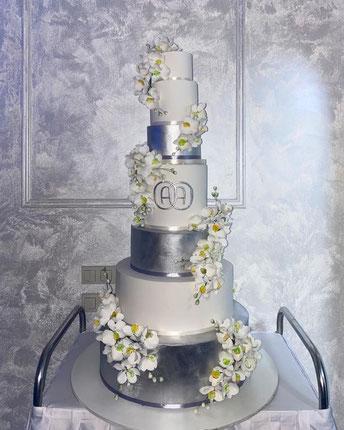 заказать Свадебный торт ростов-на-дону